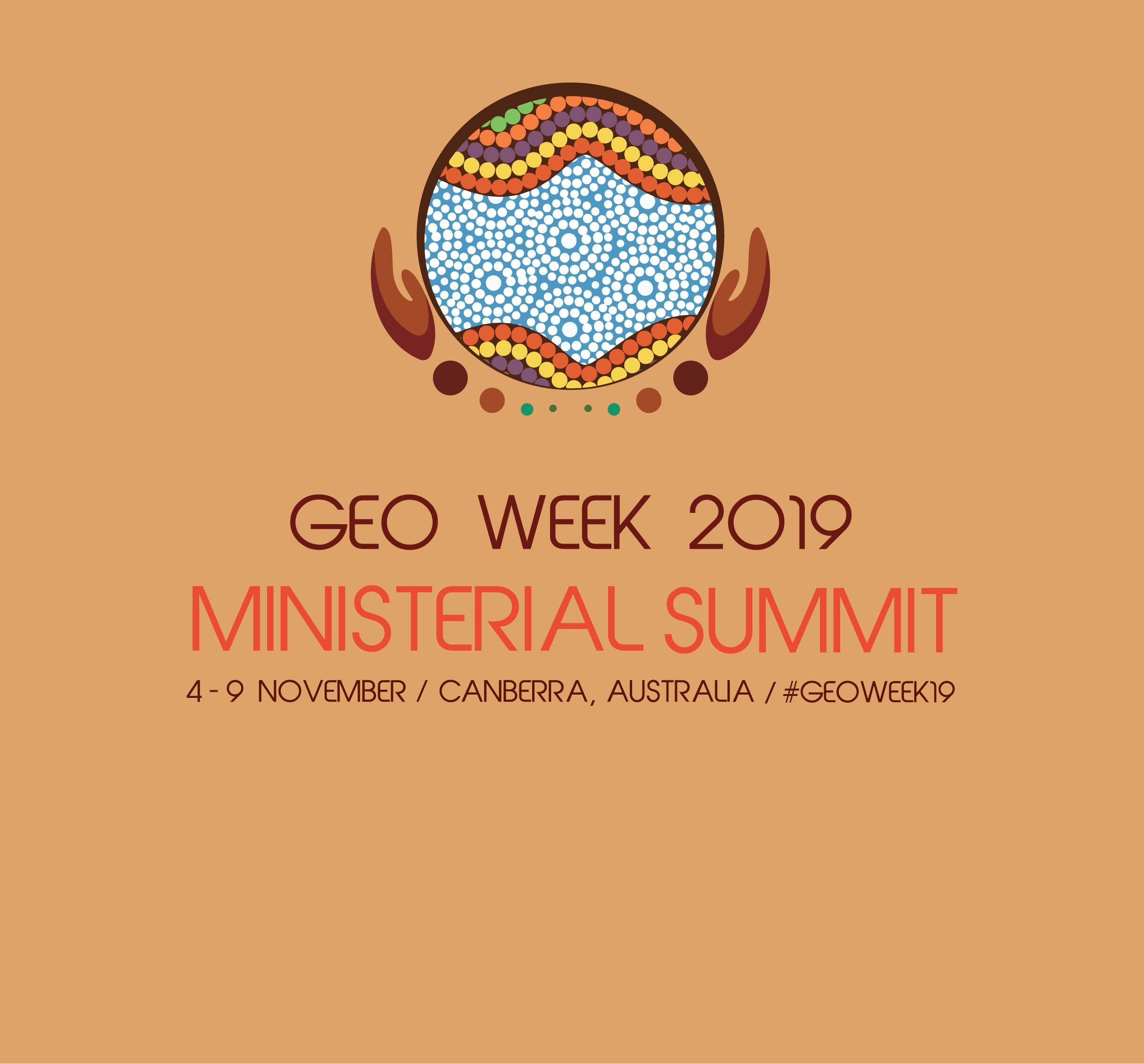 GEO Week 2019 / Ministerial Summit