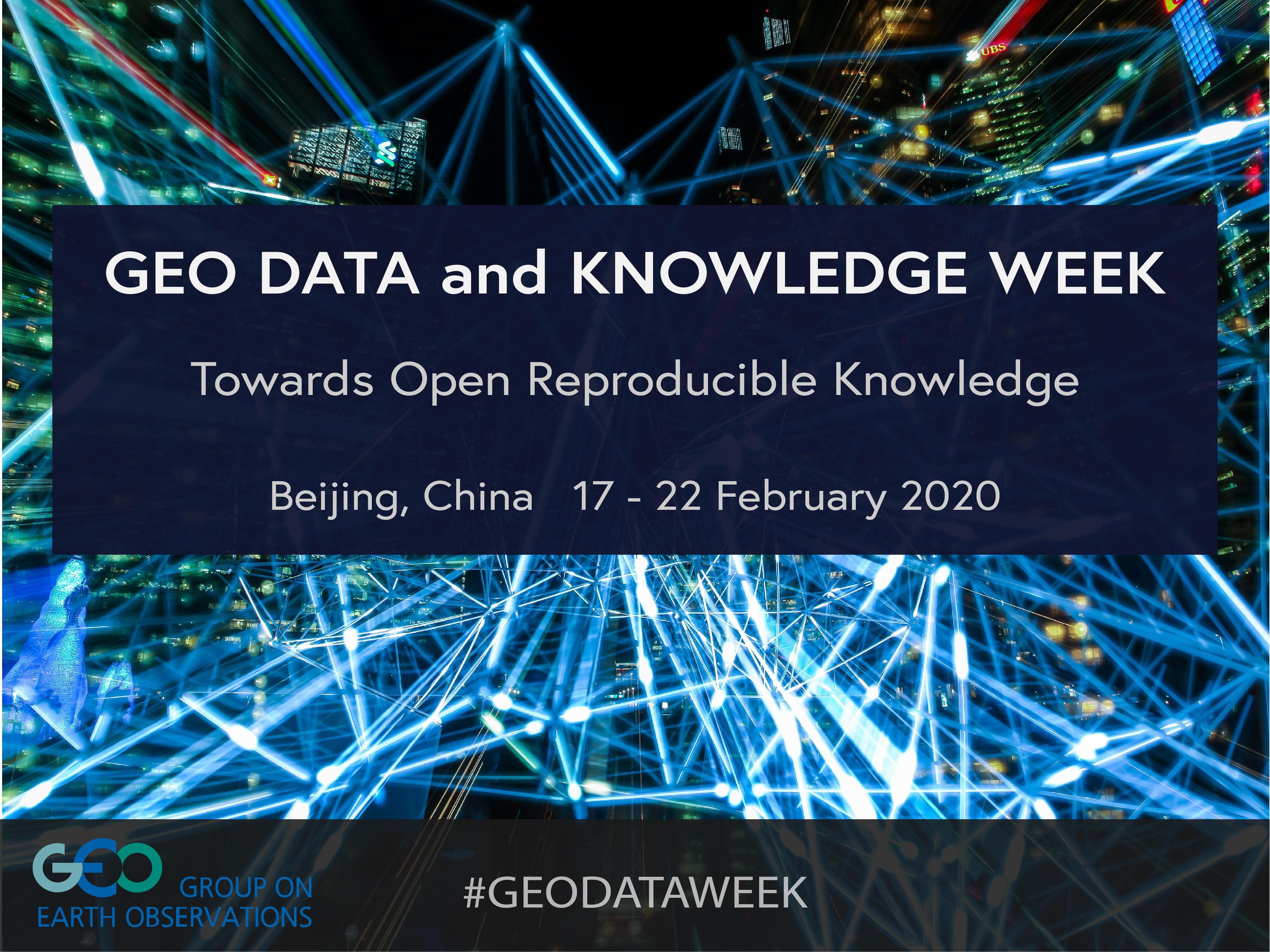 La Events February 2020.Geo Data And Knowledge Week