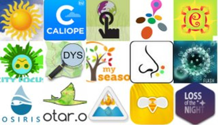 icons of different MyGEOSS apps