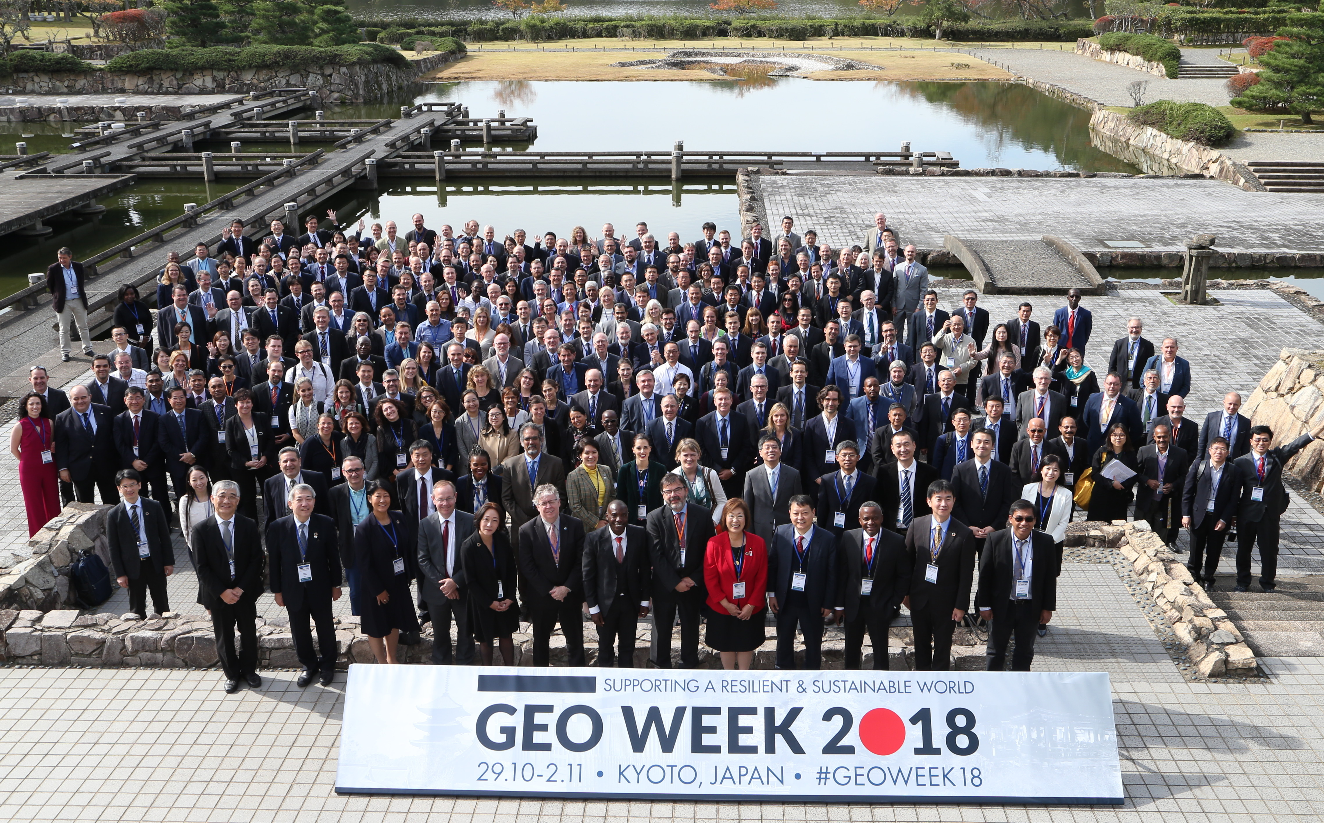 GEO-XV Plenary group photo