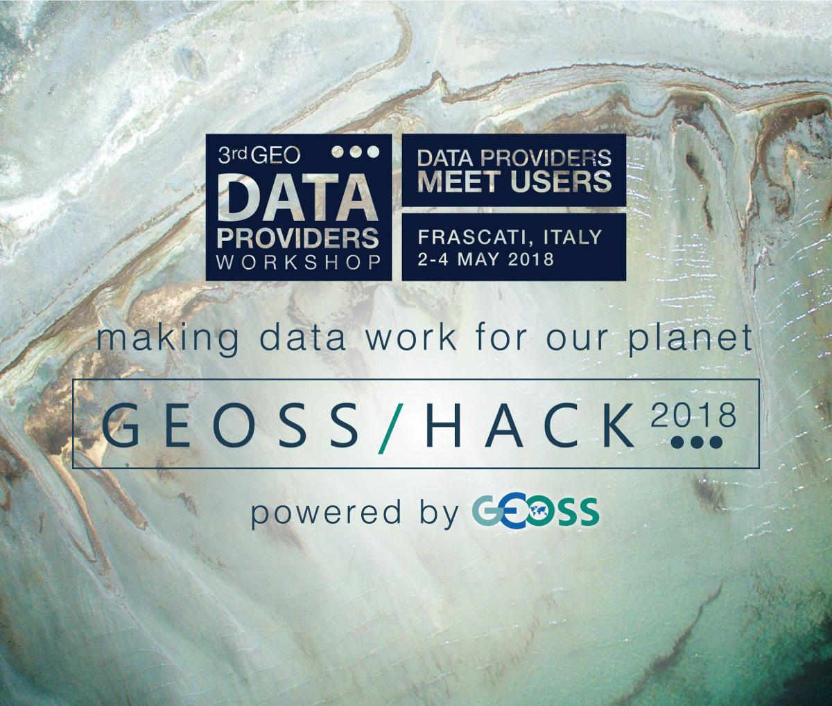 3rd Data Providers Workshop