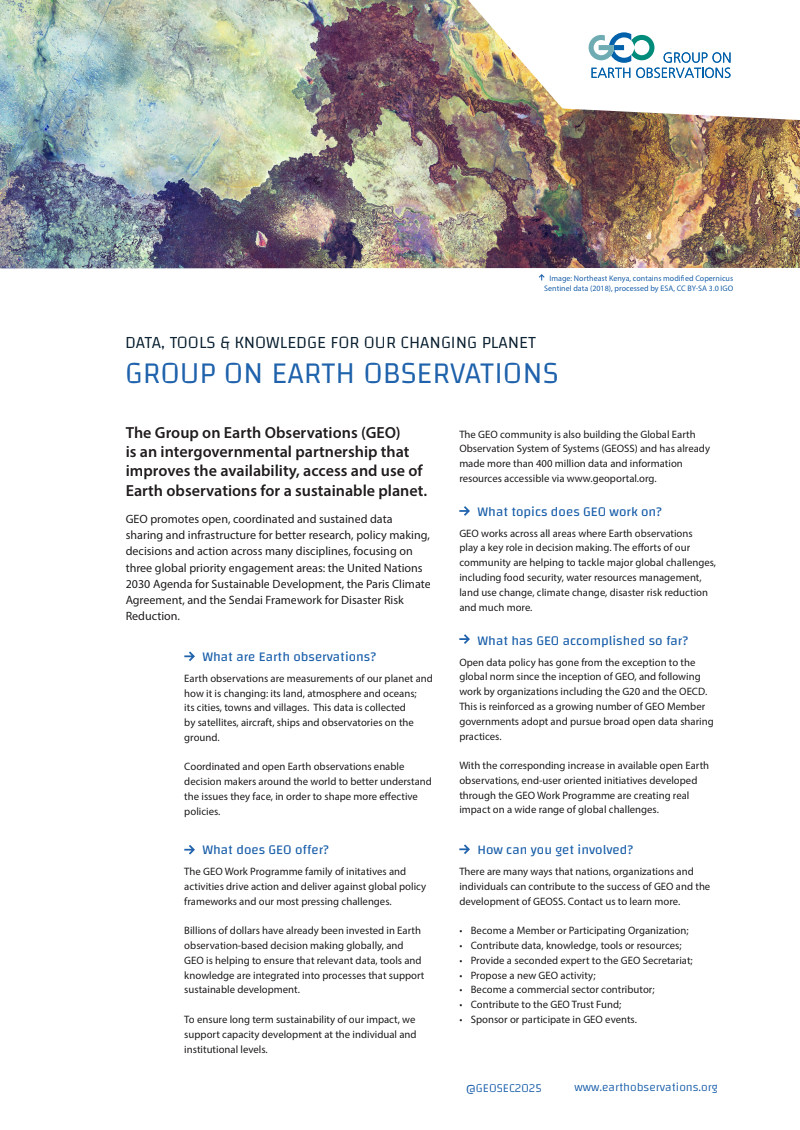 GEO - Group on Earth Observations